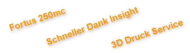 Fortus 250mc 3D Drucker