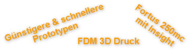 FDM 3D Druck Service